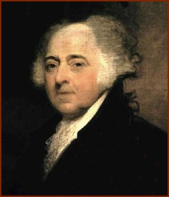 John Adams — public domain photo courtesy of Wikipedia