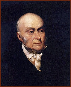 John Q. Adams — public domain photo courtesy of Wikipedia