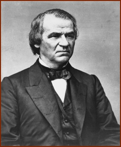 Andrew Johnson — publid domain photo courtesy of Wikipedia