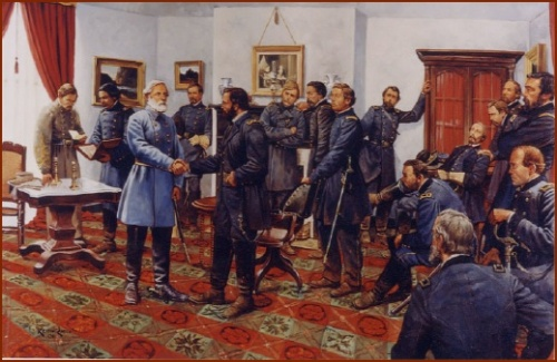 The Surrender by Rocco — public domain photo courtesy of the National Park Service