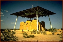 Casa Grande Ruins -- public domain photo from www.ohranger.com