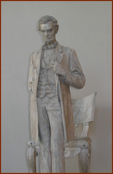 Lincoln by Saint-Gaudens