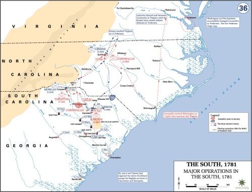 Map of Revolutionary War Battles Revolutionary War Battles Map